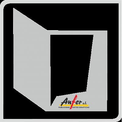 Carpetas con troquel personalizado (Ref.: 188)