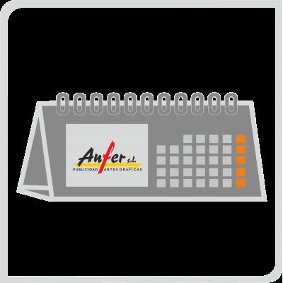 Calendarios de sobremesa semestral (Ref.: 91)