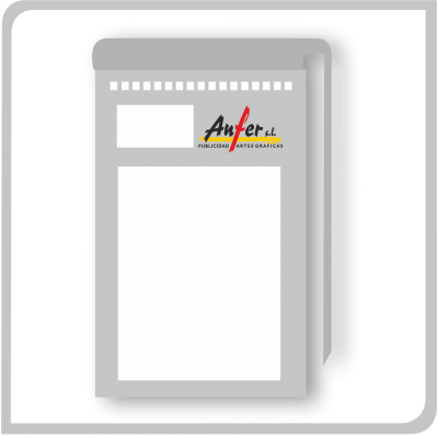Talonarios con copia cuartilla (Din A-5) (Ref.: 210-140-219-143)